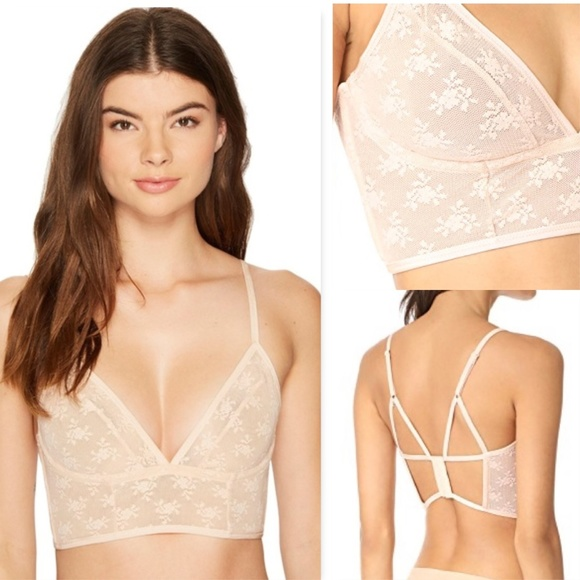 79fde127ec25ce Free People Other - Free People Isabella Mesh Underwire Bralette 32 B